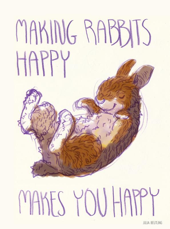 WEB making rabbits happy