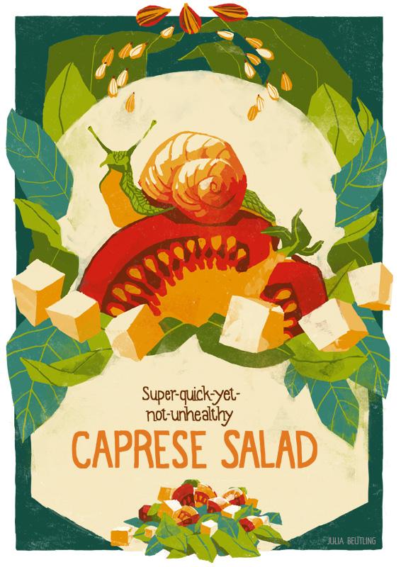 WEB poster 6 EN Caprese Salad julia beutling