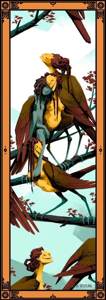 WEB-Monstrous-Families---Harpies-1000px-julia-beutling