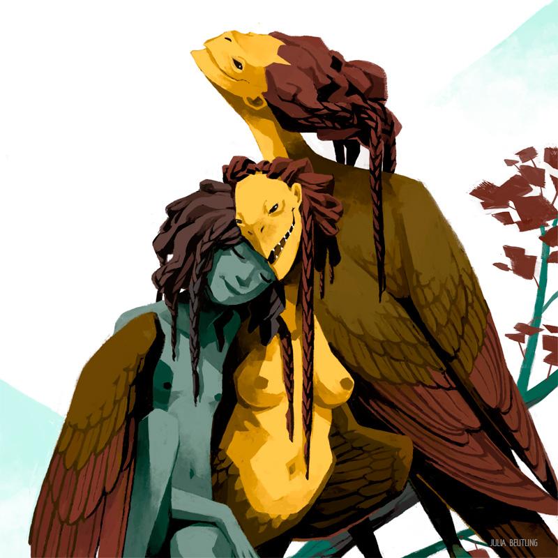 WEB-Monstrous-Families---Harpies-Detail1-julia-beutling