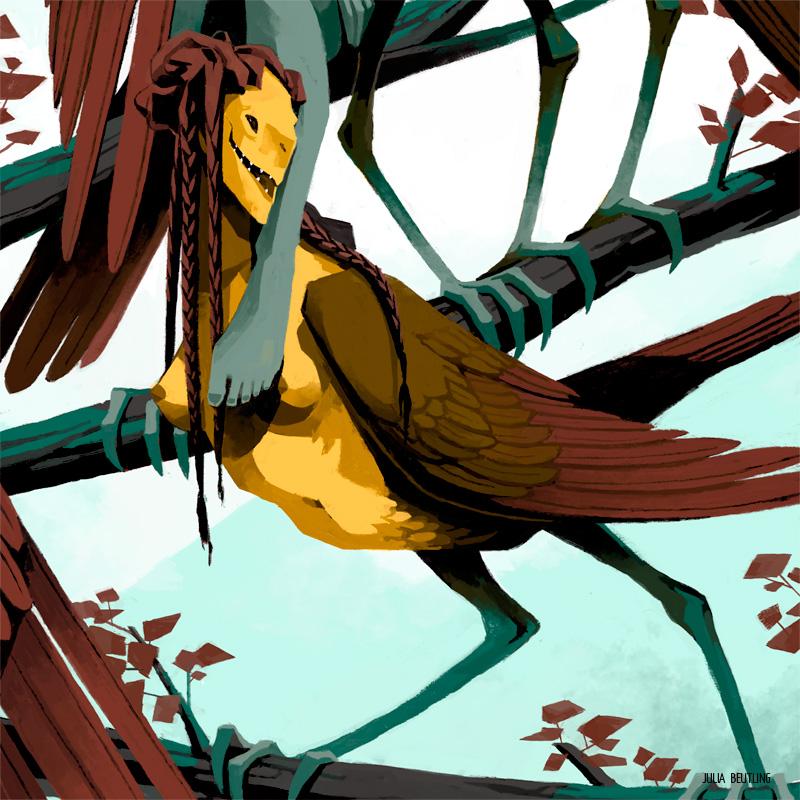 WEB-Monstrous-Families---Harpies-Detail2-julia-beutling