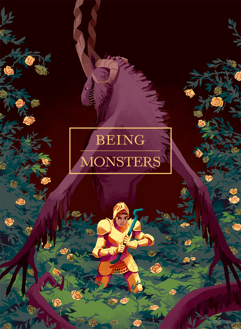 Being Monsters Book 1 Poster